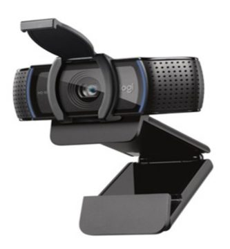 Cámara web LogiTech C920S PRO FHD 1080p