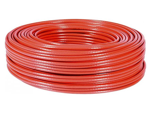 Cable de red ftp blindado categoria 6 rojo 8 hilos 305m for Cable de red categoria 6