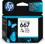 Tinta HP Original Ink Advantage 667 Tricolor 3YM78AL