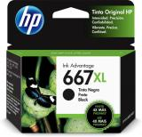 Tinta HP Original Advantage 667XL Alto Rendimiento Color Negro 3YM81AL