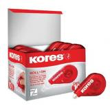 CORRECTOR ROLL ON ROJO KORES 15 X 4.2 MTS CAJA C/10 8472261