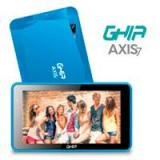 TABLET GHIA AXIS7 WIFI T7718A/5PTOS/QUAD/1GB/8GB/2CAM/WIFI/ANDROID 7/BLUETOOTH/AZUL T7718