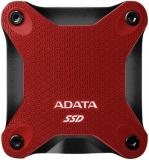 UNIDAD DE ESTADO SOLIDO SSD EXTERNO ADATA SD600Q 480GB USB 3.1  ROJO WINDOWS/MAC/LINUX/ANDROID ASD600Q-480GU31-CRD