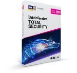 Bitdefender Total Security 2019 Multidispositivos 1 usuario 2 años