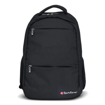 "Mochila TechZone 8BG23LA para Laptop de hasta 15.4"" Color Negro"
